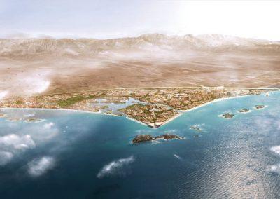 A NEW CITY DEVELOPMENT TO DIVERSIFY THE ECONOMY